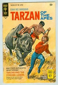 Tarzan of the Apes #192 June 1970 VG Foreign Legion