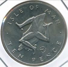 Isle Of Man, 1979(AA) 10 Pence - Choice Uncirculated