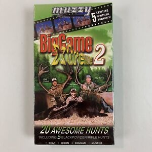 2004 Hunting VHS Big Game Extreme 2 Blackpowder Rifle Bear Bison Cougar New