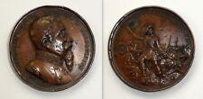 medaglia bronzo BERSAGLIERI ad ALESSANDRO LA MARMORA 50° ann. 1886