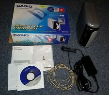 Casio Disc Title Thermal Transfer Printer (CW-100) CD/DVD Label Direct to Disc