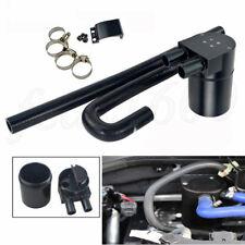 Black CNC Oil Catch Can Baffle Tank Radiator Hose for BMW N54 335i 135i E90 E92
