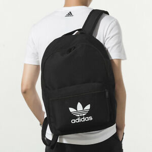 adidas Light Weight Outdoor Backpack Travel School Bag -  Black