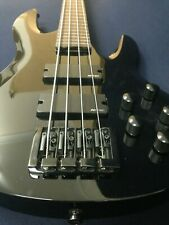 Haze Fretless,Neck-Thru,4-string Electric Bass Guitar,Black+Free Gig Bag 3270BK