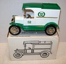 QUAKER STATE OIL 1913 FORD DELIVERY TRUCK DIECAST ERTL BANK #9195