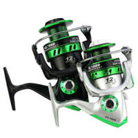 5.5:1 Lure Spinning Reel Freshwater Saltwater Metal Spool Right Left Handed