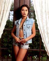 """TIA CARRERE  8/"""" X 10/"""" glossy photo reprint"""