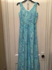 VINEYARD VINES SLEEVELESS MAXI DRESS NEWT SIZE 0