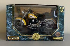 NEW Matchbox Harley Davidson Fatboy 1:9 DIECAST Scale 1995