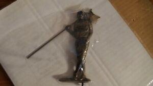 Whitehall Golfer Sundial Bronze Color