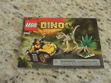 Lego Dino 5882 Booklet Instructions GUC