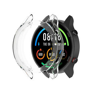 For Mi Smart Watch Soft TPU Protective Case Watch Screen Shell Bumper Protector
