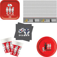 Disney Star Wars Deluxe Birthday Party Tableware Tablecover Napkins Plates Cups