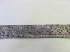 Alte Seiden Sariborte gold 215/6 cm Nr. 1803