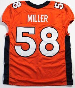 Unsigned Custom Stitched Von Miller Game Day Cut Jersey (2XL)