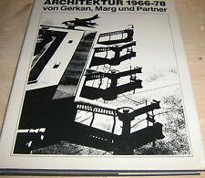 Architektur 1966 - 78  von Gerkan, Marg und Partner