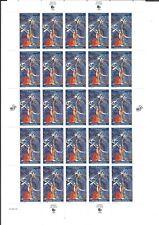 United Nations WFUNA 50th Anniv. Sheet(40 cents)  1995 Scott # 667 MNH
