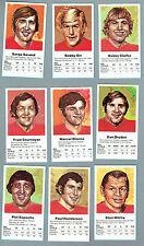 1972 Team Canada Card Set of 42