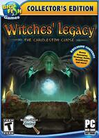 WITCHES' LEGACY: THE CHARLESTON CURSE- PC Game-New & Sealed-Fast Ship SF99