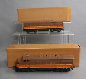 Lionel 2363 Vintage O Illinois Central AB Diesel Locomotive Set