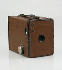 KODAK No.2 Model F Brownie Camera BROWN Coloured Edition c.1930s (VZ25)