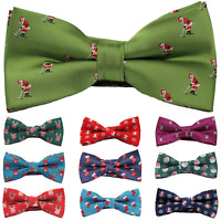 Christmas Bow Tie Festive Party Secret Santa Gift Clothing Stocking Filler Xmas