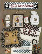 A Little Bit of Bow-wows Cross Stitch | Jeanette Crews 22151 Dogs Paws
