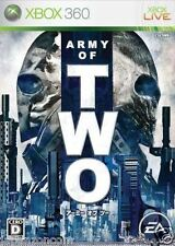 Used Xbox 360  Army of Two  MICROSOFT JAPAN JP JAPANESE JAPONAIS IMPORT