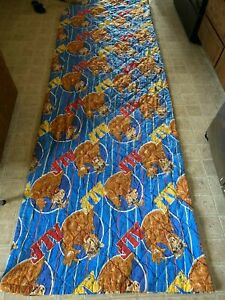 ALF vintage 1987 large BLANKET 72 by 106 inches throw