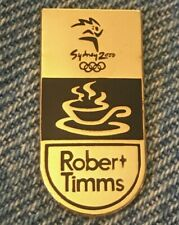 2000 Sydney Olympic Pin ~ Provider ~ Robert Timms~ by Trofe #97802 ~ Le 0361