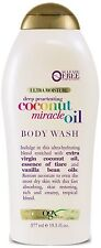 OGX Extra Creamy + Coconut Miracle Oil Ultra Moisture Body Wash 19.5 oz