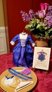 American Girl Felicity Holiday Outfit & Felicity Surprise Book