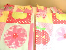LIVELY 'Next' *PATCHWORK Floral* CURTAINS:TabTop:Lovely Clean & Fresh : Drop 6ft