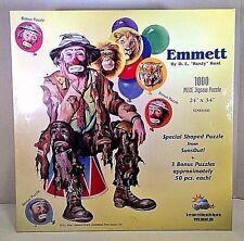 """NEW! EMMETT By D. L. """"Rusty"""" Rist 1000 pcs Sunsout + 3 Bonus Puzzles"""