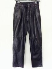 Leather Plus Size Vintage Trousers for Women