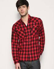 Check Regular Formal Shirts for Men 38 in. Chest