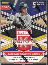 2020 Panini Elite Extra Edition Baseball Factory Sealed Blaster Box - 2 Hits