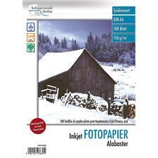 """Tintenstrahl-Papiere: 500 Blatt """"Alabaster"""" matt 110 g/m²A4 (Fotopapier)"""