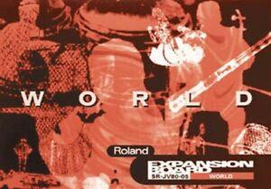 SR-JV80-05 World - Roland Expansion Card