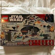LEGO STAR WARS #7666 HOTH REBEL BASE NEW SEALED 2007 RETIRED