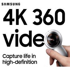 NEW SAMSUNG 2017 Gear 360 SM-R210 Compact Design Camcorder Camera Galaxy S8, S8+