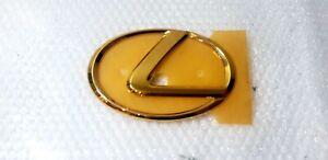 02-05 FITS New Lexus SC430 Emblem FRONT Grille Hood Gold 24K Badge 2003 2004 05