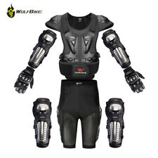 Motorcycle Jacket Hip Short Pants Knee Protection Gloves Motocross Armor Suits