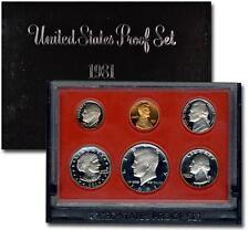 1981 United States US Mint Proof Set Last Year Susan B. Anthony Dollar SKU1427