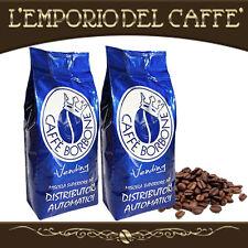 Caffè Borbone 1 kg Grani Beans Miscela Blue Blu - 100% Vero Espresso Napoletano