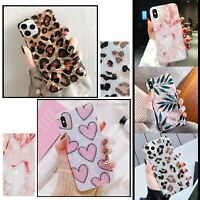Marble Leopard Shockproof Case Cover For iPhone 11 12 MINI PRO MAX X SE 2020