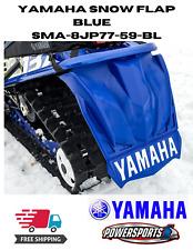 Yamaha Snowmobile Sidewinder Viper Blue Snow Flap Sma-8Jp77-59-Bl Free Sticker