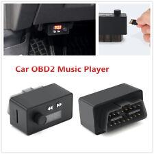OBDII Vehicle Fault Code Reader Check Engine Light Error +  Audio FM Transmitter