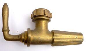 Gros ROBINET Ancien en Bronze du XIXème siècle Fût de Vin Barrique #1