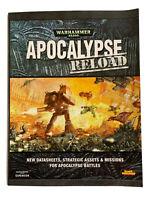 Warhammer 40K APOCALYPSE RELOAD BY GAMES WORKSHOP | PAPERBACK Like New AUS